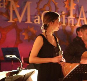 Sara Jane Ghiotti and OffCourse Big Band