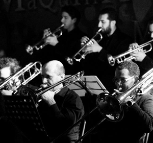 La OffCourse Big Band al Belleville Jazz Club di Rimini
